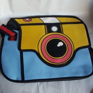 Handbags - Camera Shaped Messenger Bag